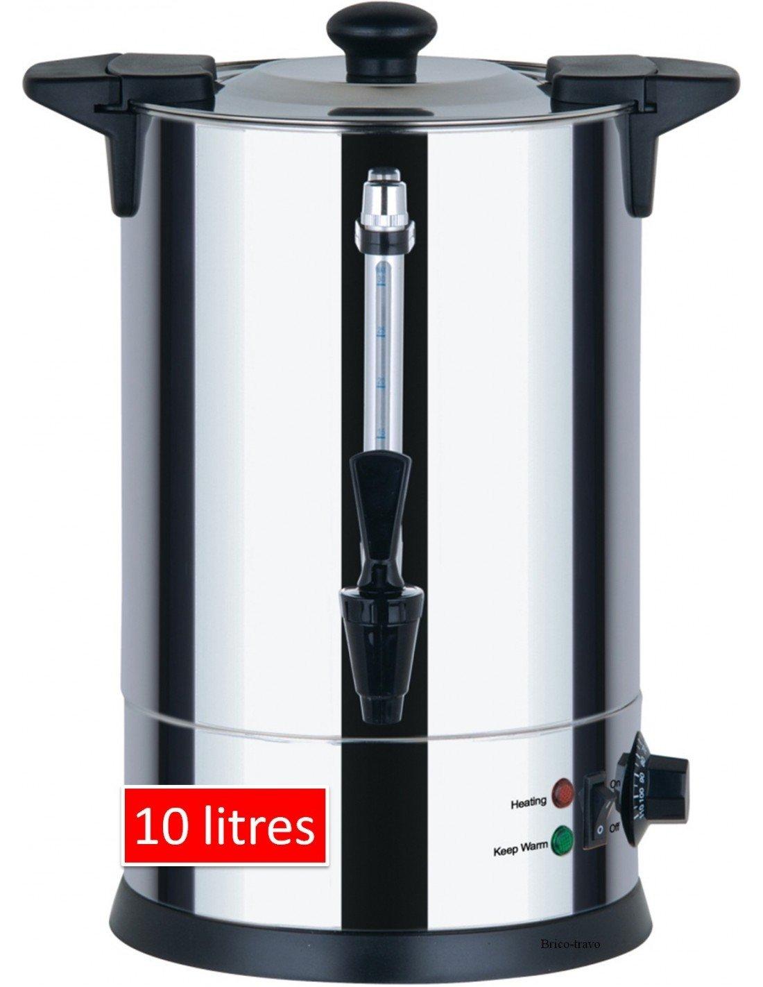 Casselin CDEC10–Dispenser di acqua calda, 10 L