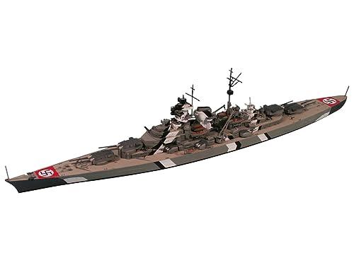 ピットロード 1/700 ドイツ海軍 ビスマルク級 戦艦 ビスマルク W121