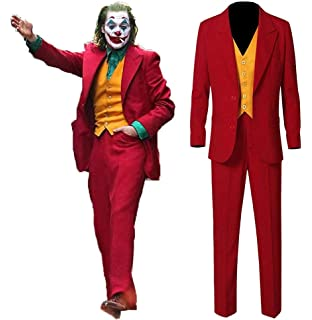Amazon.com: Coskey Joker Disfraz de Arthur Fleck Cosplay ...
