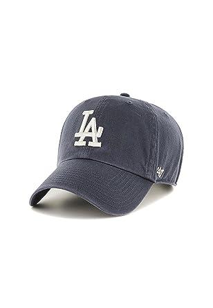 47 Brand MLB LA Dodgers Clean Up Cap - Vintage Navy  Amazon.co.uk ... 036fecbd3530