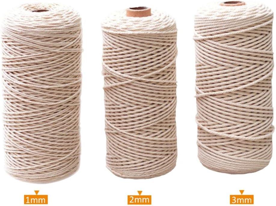 Cuerda de algodón Cuerda de algodón Puro Cuerda de Bricolaje Hecho ...