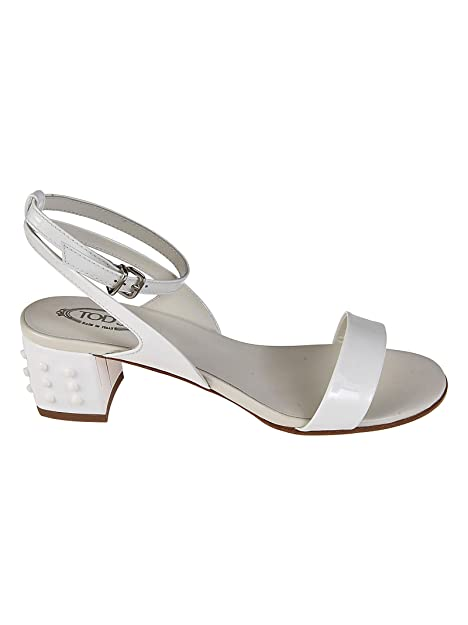 Bianca Xxw38a0y441ow0b001 In Vernice Gommini Tod's Con Sandali SMpVqUz
