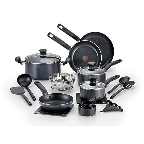 T-fal 18-PC. Iniciativas antiadherente utensilios de cocina Set