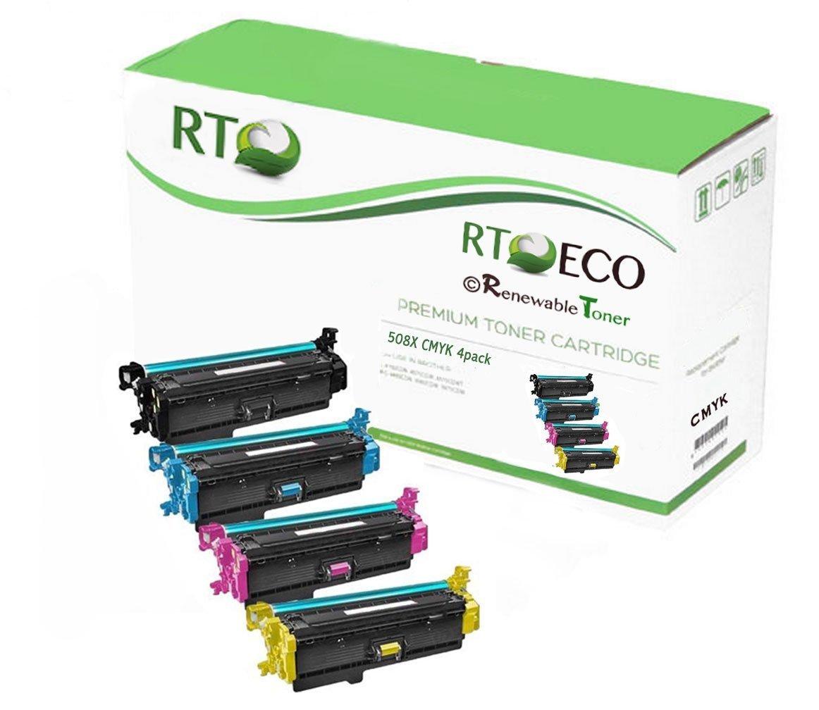 Toner Alternativo ( X4 ) Alta Capacidad 4 Colores 508X CF...
