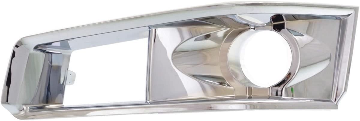 AAL FOR 2008 2009 2010 2011 CADILLAC CTS FRONT FOG LIGHT LAMP Bezel Chrome COVER