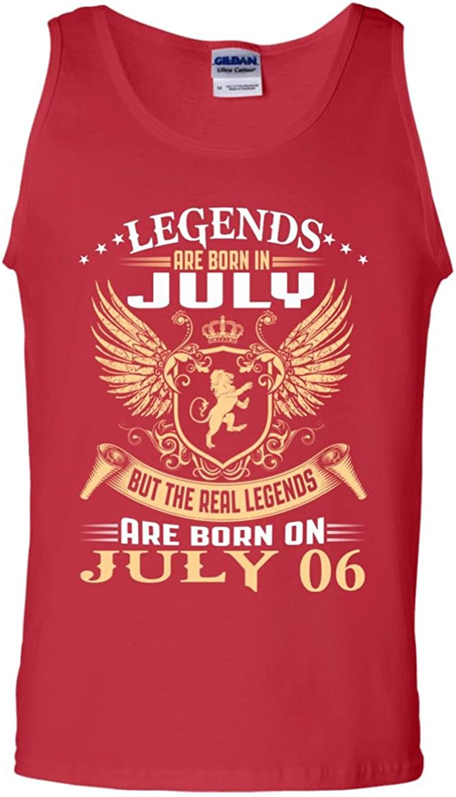 Tank top 1007 The real kings legends are born on july 06