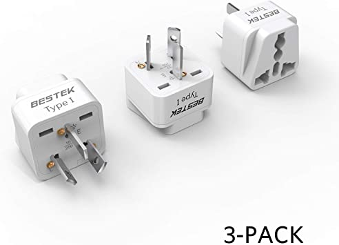 BESTEK Universal Plug Adapter Travel Plug Adapter Type N Brazil Travel Plug