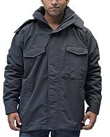 Romano Men's Water Wind Snow Resistant Grey Jacket