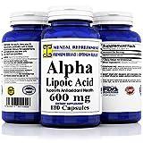 Cheap Mental Refreshment: Alpha Lipoic Acid 600mg 180caps (1 Bottle)