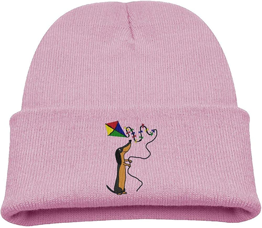 Banana King Dachshund Dog Animal Baby Beanie Hat Toddler Winter Warm Knit Woolen Cap for Boys//Girls