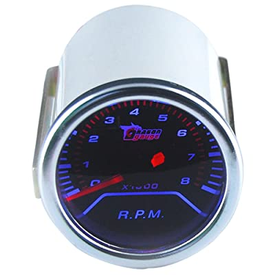 "ESUPPORT Car 2"" 52mm Tacho Gauge Meter Kit RPM Automotive: Automotive"