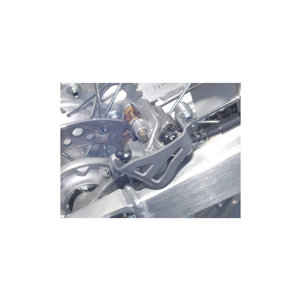 04-16 KAWASAKI KX250F: Works Connection Rear Brake Caliper Guard (NATURAL)