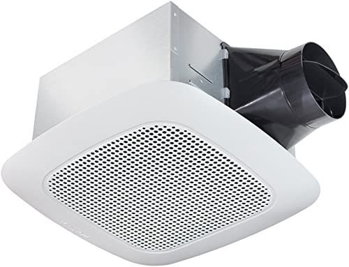 Delta Electronics Americas Ltd. VFB25ADBT Delta BreezSignature Series 110 CFM Fan Stereo, 14.2W, 1 Sone, Bluetooth Speaker
