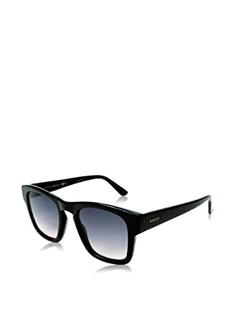 9faf78db824 Amazon.com  Gucci Gucci 3791 S 0807 Black 9C dark gray gradient lens  Sunglasses  Clothing