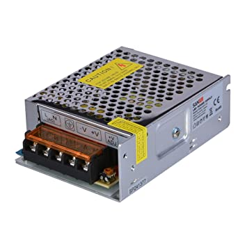 SMPS 12V DC 60W Switching Power Supply 5A Constant Voltage Single ...