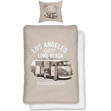 Volkswagen Bettwäsche Vw Bulli T1 Long Beach Kalifornien Renforcé