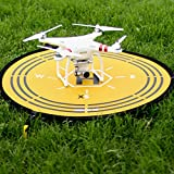 Drone-Landing-75-CM-Launch-Pad-Collapsible-RC-Helipad-Quick-Fold-Quad-Copter-Portable-Air-Base-Foldable-Helipad-By-ARDOR-XS-for-DJI-Mavic-Pro-Phantom-Blade-inspire-Syma-Yuneec-Typhoon-Parrot-Universal