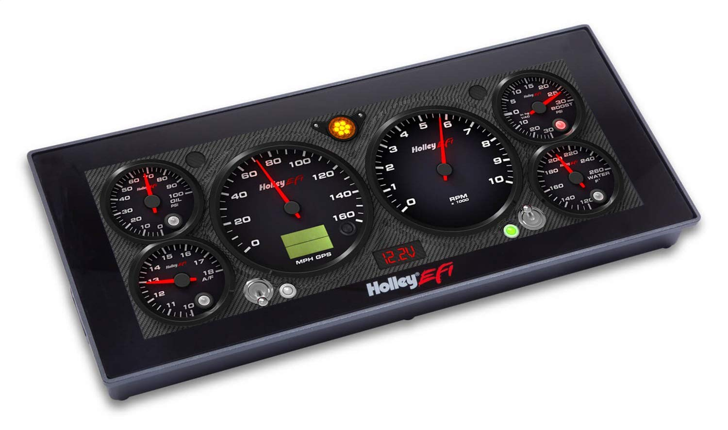 Holley 553-111 EFI Pro Dash Compatible with EFI Dominator or HP ECU with V4 Buil