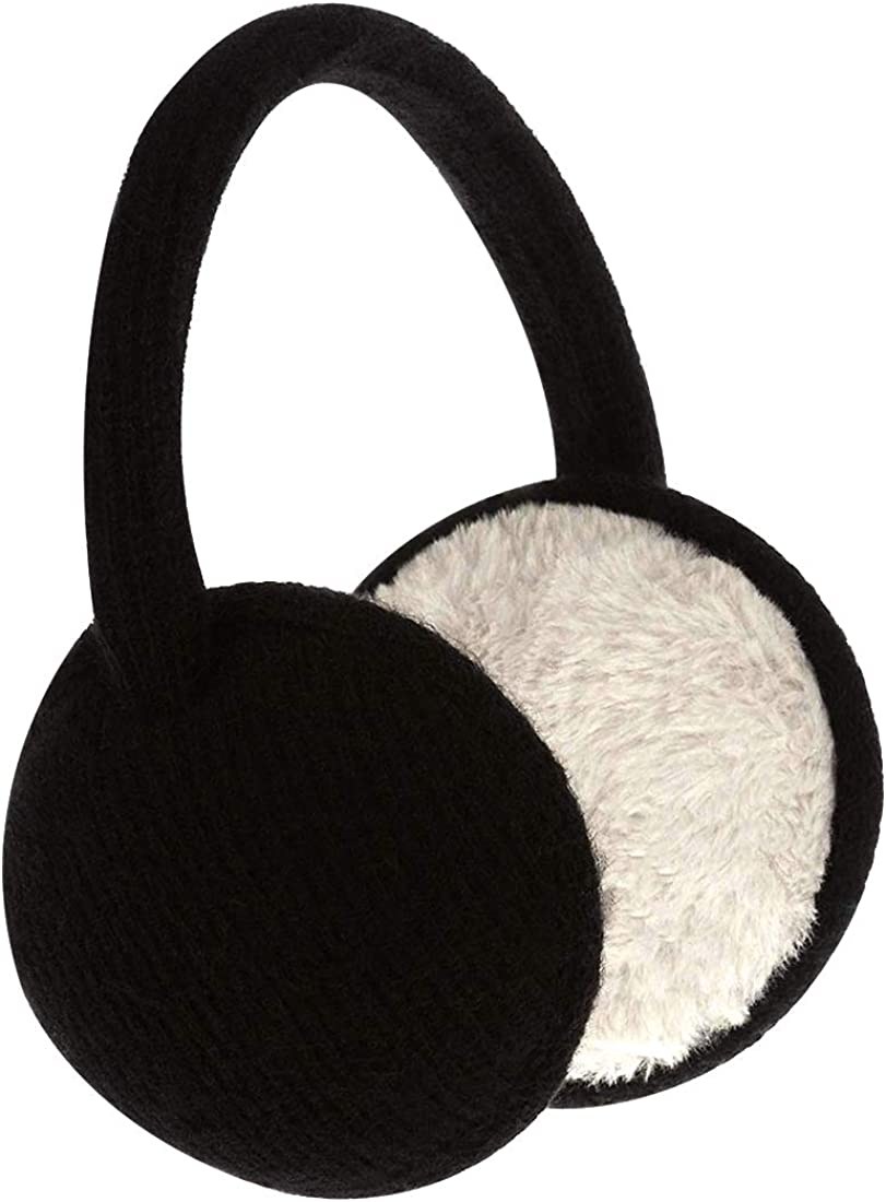 Knit Earmuffs Unisex Classic Foldable Ear Muffs Winter Accessory Outdoor Ear Warmer