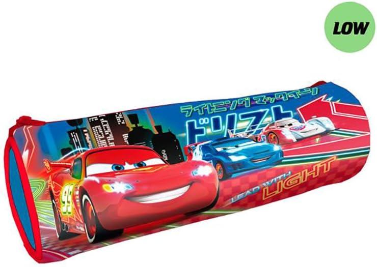 Cars Disney Estuche portatodo cilindrico, Color Rojo (Astro AST0714): Amazon.es: Juguetes y juegos
