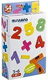 Miniland 97927 - Números magnéticos (54 piezas) [importado de Alemania]