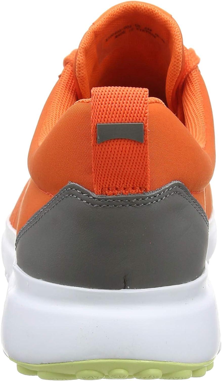 Camper Canica, Sneakers Basses Homme Orange Medium Orange 810