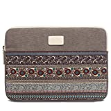 """11-11.6"""" Laptop Chromebook Case Sleeve,Leisure Retro Zipper Briefcase Carrying Cases Bag for Laptops Notebook Computers iPad Tablets ,Surface Pro3/4, Macbook 11/12"""