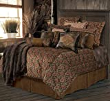 HiEnd Accents Austin Western Bedding Set, Super King