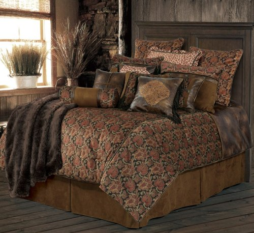 HiEnd Accents Austin Western Bedding Set, Super King by HiEnd Accents