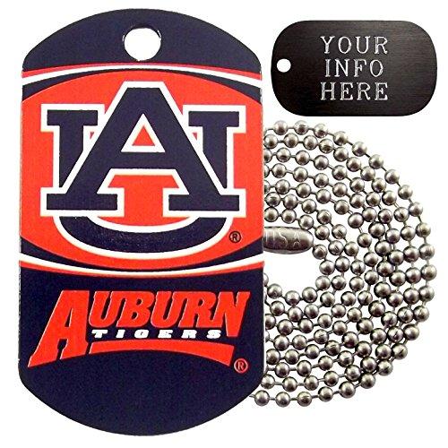 Auburn Tigers Ncaa Photo - Customized Auburn NCAA Military Dog Tag Necklace