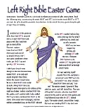 Printable Christian Easter Bible Left-Right Gift Exchange Game [Download]