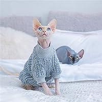 NMGTT Suéter cálido de otoño e Invierno Ropa de Gato esfinge