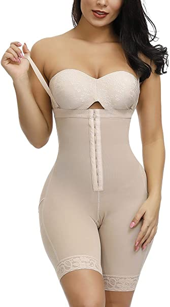 FeelinGirl Womens Seamless Maternity Shapewear Body High Waist Maternity Support Pants Butt Lifter Maternity Body Shaper