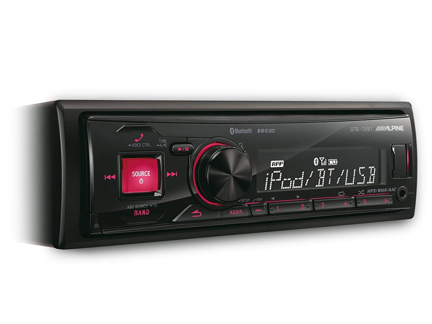 Alpine UTE-72BT, Ricevitore Media Digitale con Bluetooth