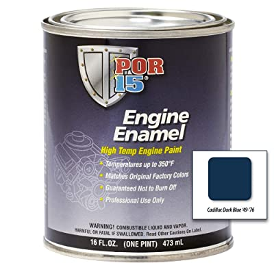 POR-15 42088 Cadillac Dark Blue Engine Enamel - 1 pint: Automotive