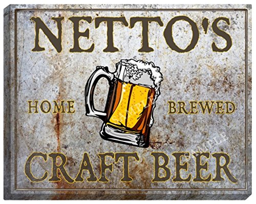 nettos-craft-beer-stretched-canvas-sign-16-x-20
