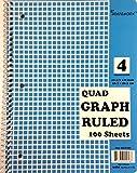Quad Ruled Spiral Notebook 48 pcs sku# 1858044MA