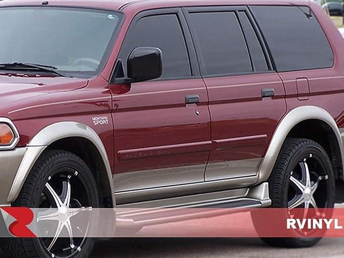 HUAYATIAN SR5 V6 Metal Emblem,4Runner Accessories Fender Badge Decal Emblem Fit for Toyota 4Runner Tacoma Tundra Highlander V6 Car Trunk Sticker Kit
