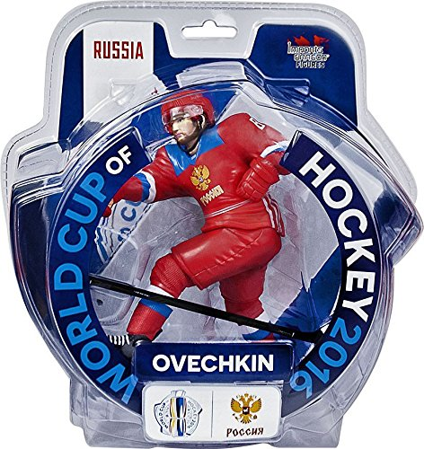 """Alexander Ovechkin Team Russia 2016 World Cup Of Hockey 6"""" Action Figure Imports Dragon"""