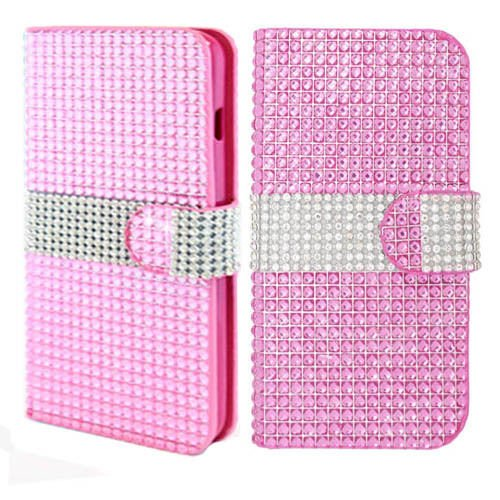 alcatel-one-touch-fierce-2-7040t-pop-icon-a564c-pink-for-diamond-wallet-credit-card-bling-gems-jewel