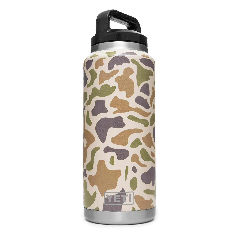 YETI Rambler 36 oz Vacuum Insulated Stainless Steel Bottle Cap, Camo