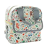 LLZJ Changing Nappy Backpack for Mom Fashion and Function in One Bag Insert Stylish Travel Satchels Diaper Totes Bag Package Daily Use Shoulder, G