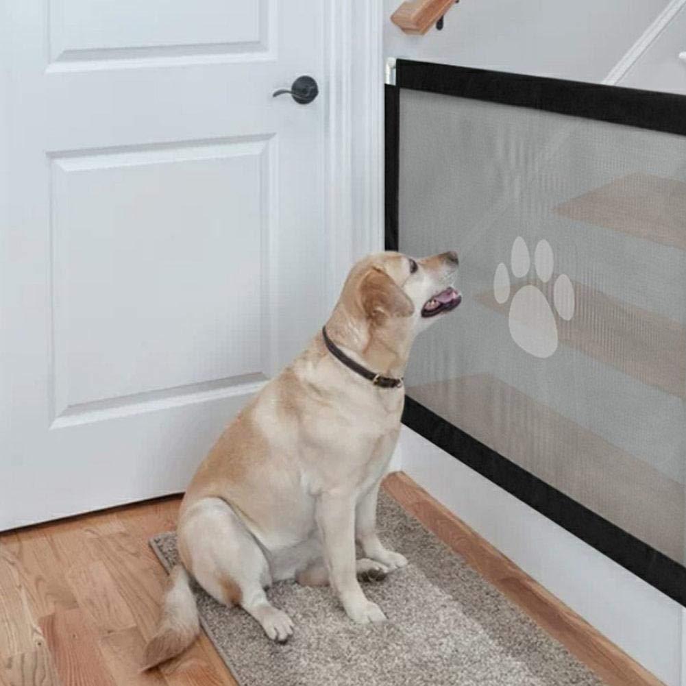 Garyone Baby Door Fence Isolation Net Pet Fence Safety Net for Indoor