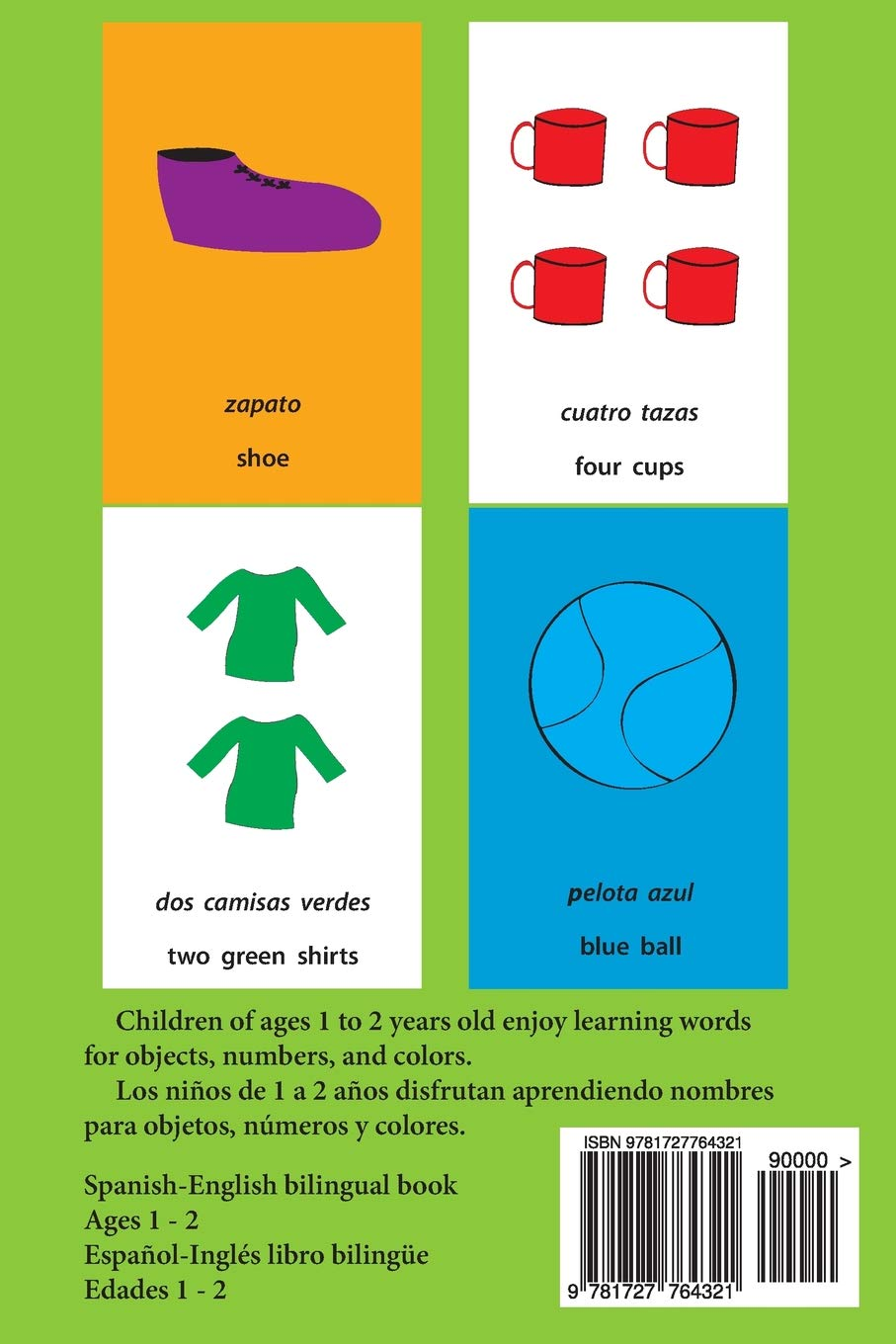 Amazon.com: Words Numbers Colors ~ Palabras Numeros Colores (9781727764321): Charles Harriman, Ahwren Ayers: Books