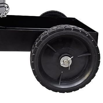 Carrito de Soldadura Carro Negro con 3 Estantes Organizador de Taller: Amazon.es: Bricolaje y herramientas