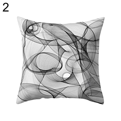 Amazon.com: Alamana T8Tulle Voile Shade Throw Pillow Case ...
