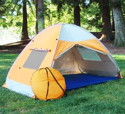 new product 2bcba f9110 Pop up Family Cabana Tent Sun Wind Shelter Beach Tent