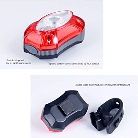 Vélo Lumière étanche Arrière Queue Lumière DEL Rechargeable USB Mountain Bike