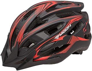 DYM258 Casco para Bicicleta Peso Ligero Proceso de una Pieza Sombrero para el Sol ventilación Seguridad Adecuado para Bicicleta de Campo Ciclismo de montaña MTB de Carretera Casco Hombres