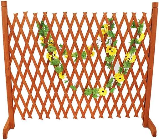 NLMWL-Y Cerca del jardín, mampara de Madera de Barrera Vegetal, decoración de la Cerca extendida al Aire Libre 90cm: Amazon.es: Hogar
